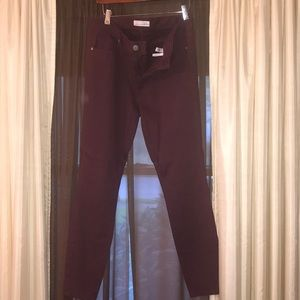 Pants (like a jegging) (CRANBERRY color)
